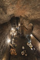 The Williamson Tunnels. The two football clubs mentioned in the article are Liverpool and Everton.