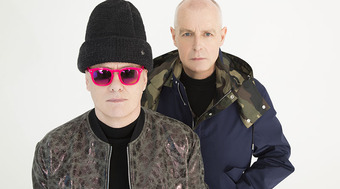 Pet Shop Boys, Neil Tennant (left) and Chris Lowe (right)