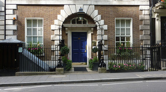 44 Berkeley Square, home of the Clermont Club and Annabel's, two famous London clubs.