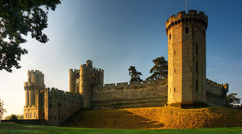 Warwick Castle   East Front.