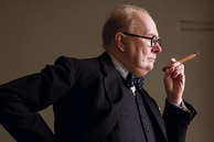 Gary Oldman plays Prime Minister Winston Churchill